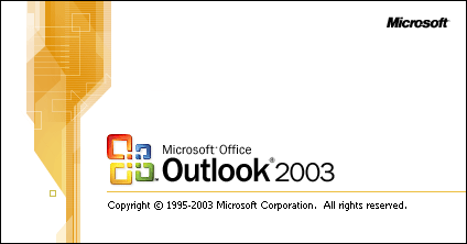 outlook xp 2003